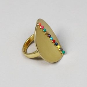 Jewelry - | touch of midas statement ring |